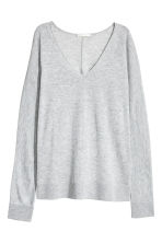 Fine-knit jumper - Light grey marl - Ladies | H&M 2