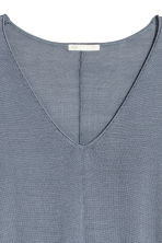 Fine-knit jumper - Blue-grey - Ladies | H&M CA 3