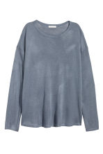 Fine-knit jumper - Blue-grey - Ladies | H&M 2