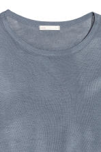 Fine-knit jumper - Blue-grey - Ladies | H&M 3