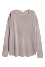 Fine-knit jumper - Light grey - Ladies | H&M CN 2