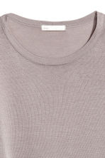 Fine-knit jumper - Light grey - Ladies | H&M CA 3