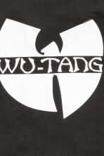 Printed T-shirt - Black/Wu-Tang Clan - Kids | H&M CN 3