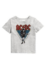 Printed T-shirt - Grey/AC/DC - Kids | H&M 2