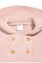 Textured-knit cardigan - Pink - Kids | H&M 2
