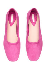Ballet pumps with a heel - Pink - Ladies | H&M CA 2