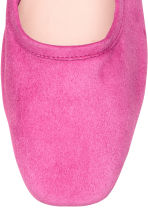 Ballet pumps with a heel - Pink - Ladies | H&M CA 3
