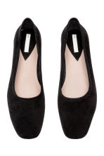 Ballet pumps with a heel - Black - Ladies | H&M 2