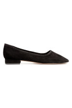 Ballet pumps with a heel - Black - Ladies | H&M 1