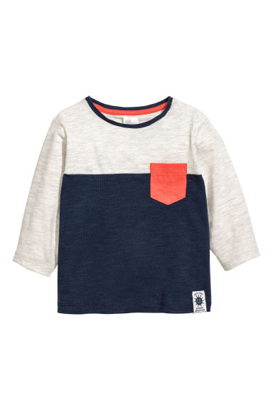 長袖上衣 - Grey - Kids | H&M