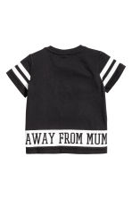 T-shirt with mesh - Black - Kids | H&M 2