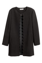 Short coat - Black - Ladies | H&M CA 2