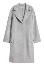 Felted coat - Light gray - Ladies | H&M 2