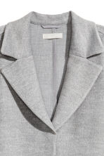 Felted coat - Light gray - Ladies | H&M 3