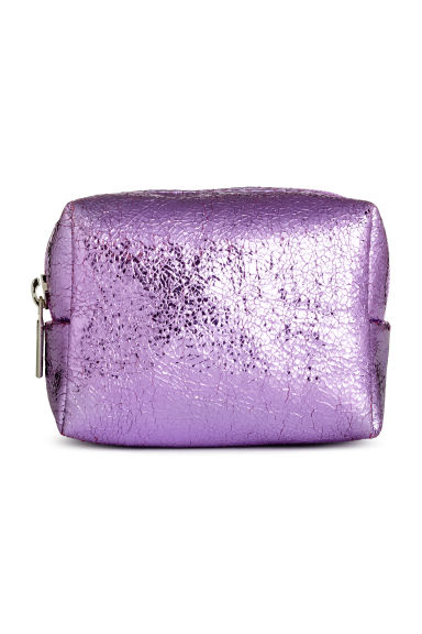 Mini pouch - Purple/Metallic - Ladies | H&M