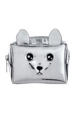 Mini pouch - Silver-coloured/Metallic -  | H&M 1