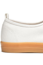 Cotton canvas trainers - White - Men | H&M CN 5