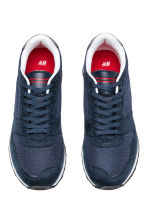 Mesh trainers - Dark blue/Red - Men | H&M 3
