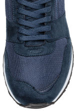 Mesh trainers - Dark blue/Red - Men | H&M 4