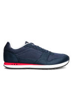 Mesh trainers - Dark blue/Red - Men | H&M 2