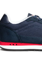 Mesh trainers - Dark blue/Red - Men | H&M 5