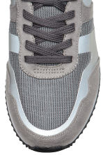 Mesh trainers - Grey/Red - Men | H&M CN 3