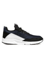 Mesh trainers - Black/White - Men | H&M 1