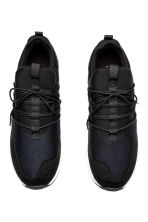 Mesh trainers - Black/White - Men | H&M 2