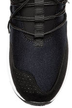 Mesh trainers - Black/White - Men | H&M 3