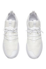 Mesh trainers - White - Men | H&M 2