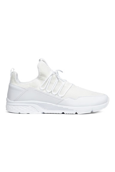 Mesh trainers - White - Men | H&M 1