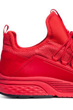 Mesh trainers - Red - Men | H&M 4