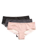 Hipster 3件入內褲 - Powder pink - Ladies | H&M 2