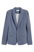 Fitted jacket - Blue-grey -  | H&M IE 2
