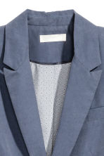 Fitted jacket - Blue-grey -  | H&M IE 3