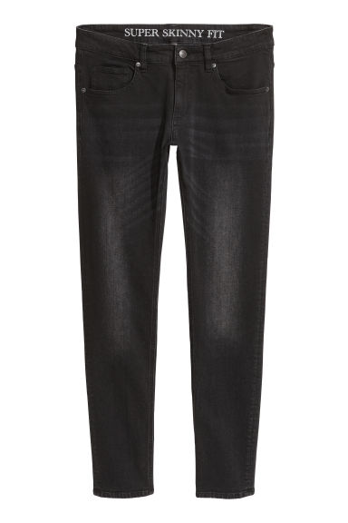 Super Skinny Jeans - Black/Washed - Men | H&M CN