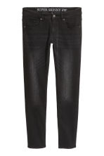 Super Skinny Jeans - Black/Washed - Men | H&M 1