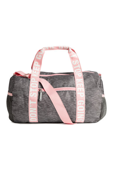 Sports bag - Grey marl - Kids | H&M 1