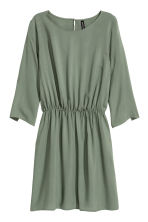 Short dress - Khaki green - Ladies | H&M 2
