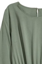 Short dress - Khaki green - Ladies | H&M 3