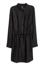 Shirt dress - Black - Ladies | H&M 2