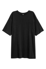 Cotton jersey T-shirt - Black - Ladies | H&M 2