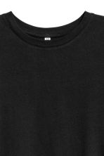 Cotton jersey T-shirt - Black - Ladies | H&M 3