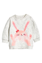 Sweat - Gris/lapin -  | H&M FR 1