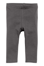 Sweatshirt and leggings - Dark grey/Leopard print - Kids | H&M 2