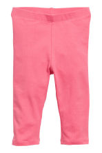 Sweatshirt and leggings - Light pink/Spotted - Kids | H&M CN 2