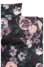 Set copripiumino a fiori - Viola/fiori - HOME | H&M IT 3