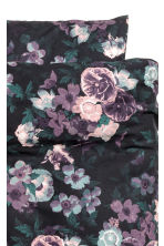 Floral-print duvet cover set - Purple/Flowers - Home All | H&M IE 3
