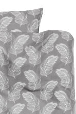 Funda nórdica estampada - Gris - HOME | H&M ES 2