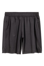 Short sports shorts - Black - Men | H&M CN 2